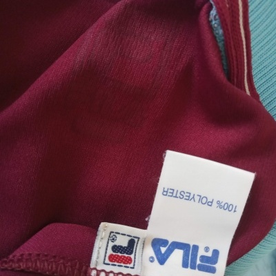 "West Ham United Home Shirt 1999-2001 (4XL) ""Good"""
