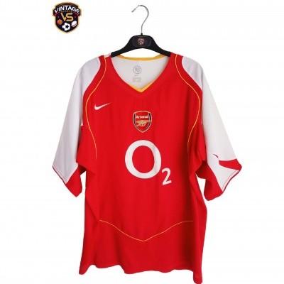 "Arsenal FC Home Shirt 2004-2005 (XL) ""Very Good"""