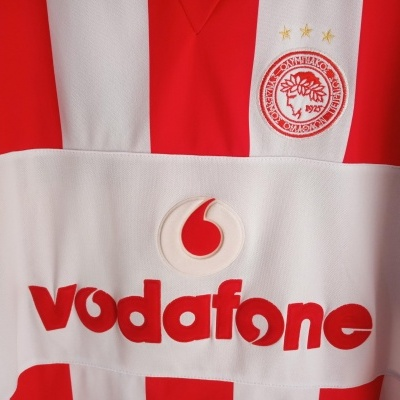 "Retro Fan Olympiakos Home Shirt 2009-2010 #7 Galletti (XL) ""Very Good"""