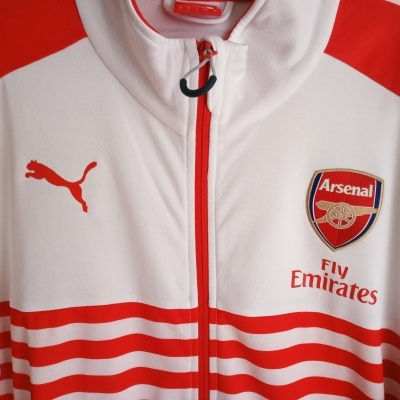 "Arsenal FC Anthem Jacket 2014-2015 (L) ""Perfect"""
