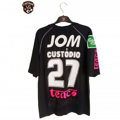 "Matchworn Vitoria Guimarães Away Shirt 2009 #27 Custodio (L) ""Very Good"""