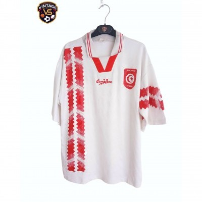 "Tunisia Football Training Shirt 1994  (L) ""Very Good"""