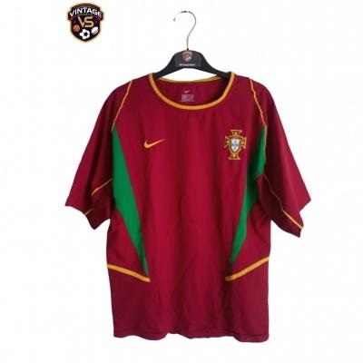 "Portugal Home Shirt 2002-2004 (S) ""Very Good"""