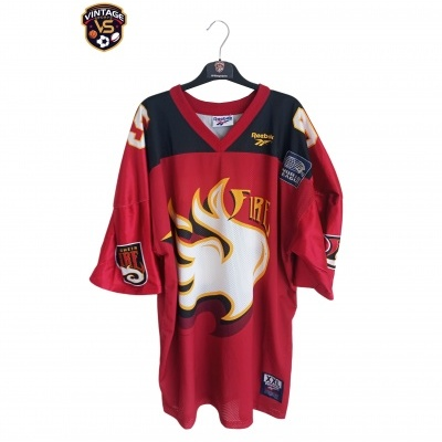 """Rhein Fire Dusseldorf NFL Europe World League Jersey 1995 (XXL) """"Average"""""""