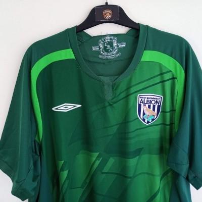 "WBA West Bromwich Albion FC Goalkeeper Shirt 2009-2010 #1 Kiely (XL) ""Very Good"""