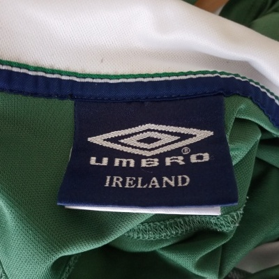 "Republic of Ireland Training Polo Shirt (L) ""Good"""