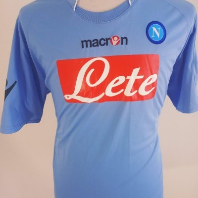 "SSC Napoli Home Shirt 2009-2010 (XL) ""Very Good"""