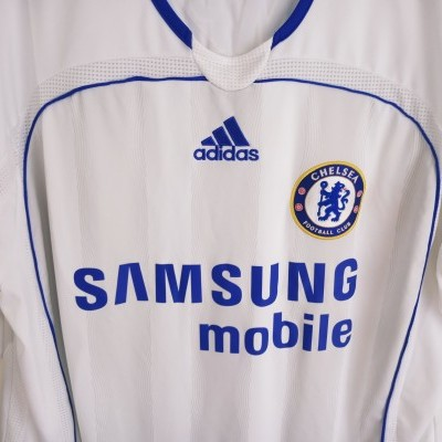 "Chelsea FC Away Shirt 2006-2007 #8 Lampard (L) ""Very Good"""