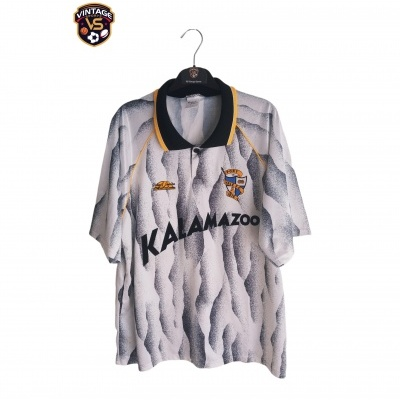 "Matchworn Port Vale FC Home Shirt 1991-1992 #7 (XL) ""Very Good"""