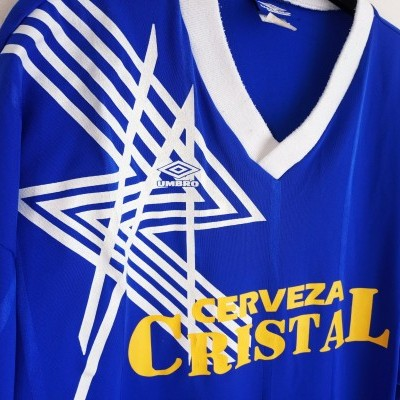"Matchworn Sporting Cristal Peru Shirt 1990s #11 (XL) ""Good"""