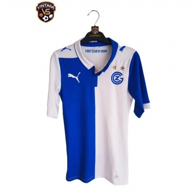 """Grasshoppers Zurich Home Shirt Player Issue 2014-2015 (S) """"Perfect"""""""