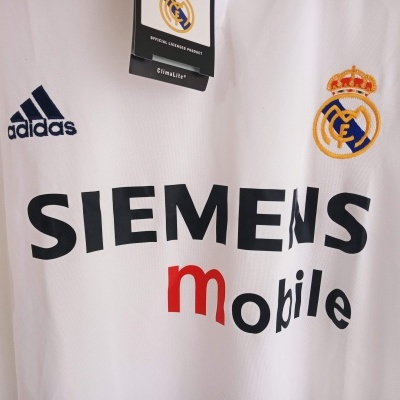 NEW Real Madrid Centenary Home Shirt 2002-2003 (XL)