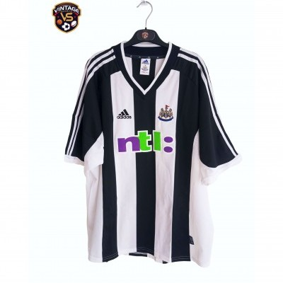 "Newcastle United Home Shirt 2001-2003 (XXL) ""Very Good"""