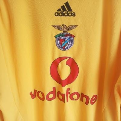 """SL Benfica Centenary Goalkeeper Shirt 2003-2005 (L) """"Very Good"""""""