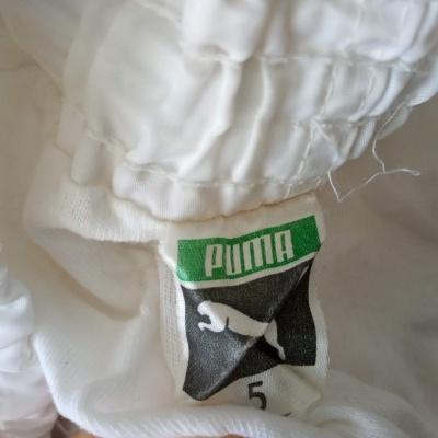 "Vintage Shorts Puma 1980s White Red (M) ""Very Good"""