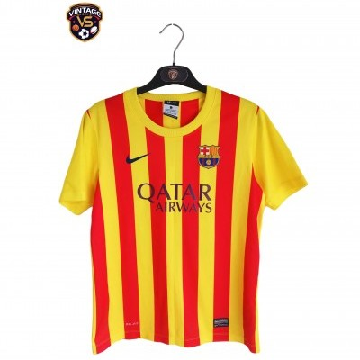 "FC Barcelona Away Shirt 2013-2014 #11 Neymar (L Youths) ""Very Good"""
