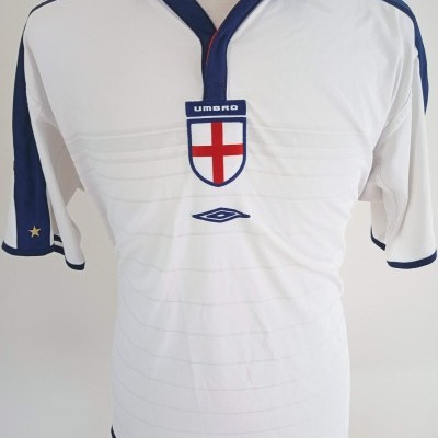 "England Home Reversible Shirt 2003-2005 (XXL) ""Very Good"""