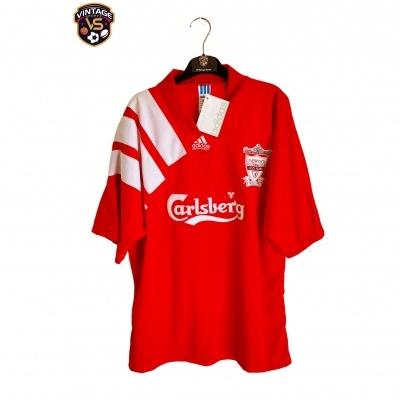 NEW Liverpool FC Centenary Home Shirt 1992-1993 (XL)