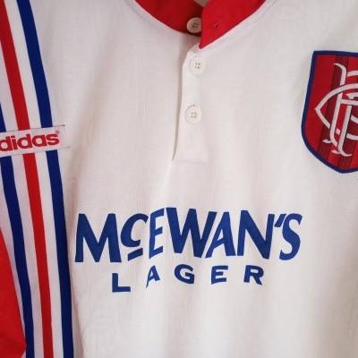"Glasgow Rangers FC Away Shirt 1996-1997 (XL) ""Good"""