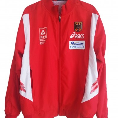 "Germany Triathlon Tracksuit Top Jacket (S) ""Very Good"""
