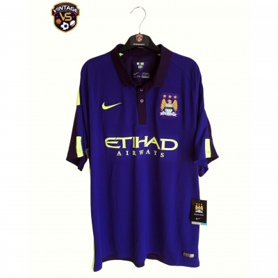NEW Manchester City Third Shirt 2014-2015 (XL)