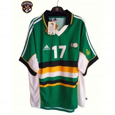 NEW South Africa Away Shirt 1999 #17 McCarthy (XL)