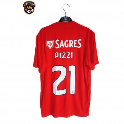 NEW SL Benfica Home Shirt 2018-2019 #21 Pizzi (M)