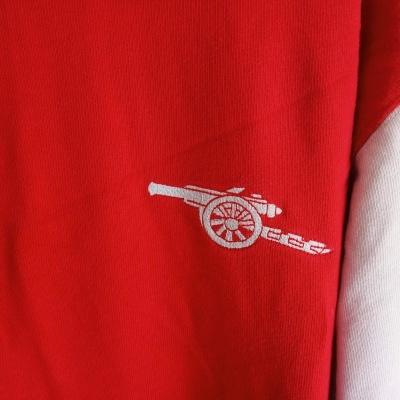 "Retro Arsenal FC L/S Home Shirt 1967-1974 (M) ""Good"""