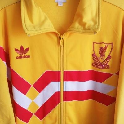 "Liverpool FC Track Top Jacket 1989-1991 (XL) ""Good"""