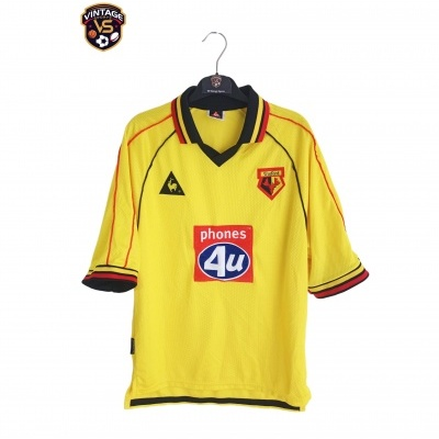 "Watford FC Home Shirt 1999-2001 (S) ""Very Good"""
