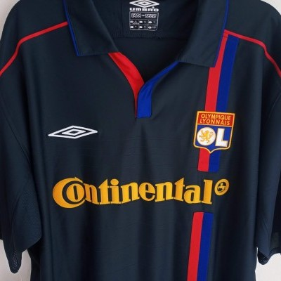 NEW OL Lyon Away Shirt 2003-2004 #9 Elber (XL)
