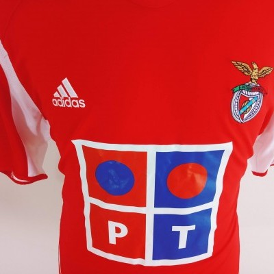 "SL Benfica Home Shirt 2005-2006 (XL) ""Perfect"""