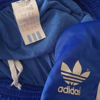 "Vintage Shorts Adidas 1990s Green White (L) ""Good"""