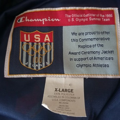 "Team USA Olympics Games Atlanta 1996 Jacket (XL) ""Very Good"""