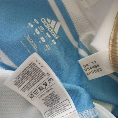 "Argentina Rugby Home Shirt 2011 (S) ""Very Good"""