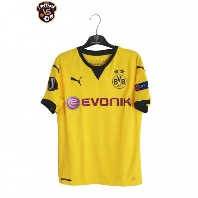 "Borussia Dortmund Cup Shirt 2013-2014 #17 Aubameyang (S) ""Very Good"""