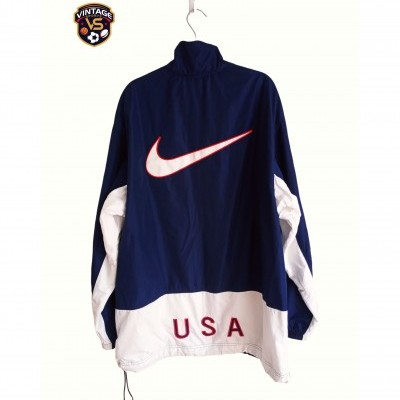 "ISSUE USA US Soccer Football Jacket 1998 (L) ""Very Good"""