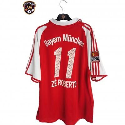 """FC Bayern Munich Home Shirt 2003-2004 #11 Ze Roberto (L) """"Average"""""""