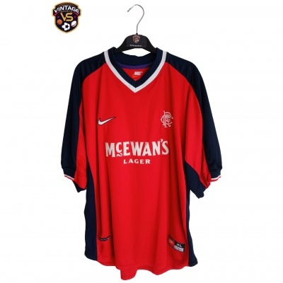 "Glasgow Rangers FC Away Shirt 1998-1999 (XL) ""Very Good"""