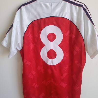 "Arsenal FC Home Shirt 1991-1992 #8 (M) ""Good Condition"""