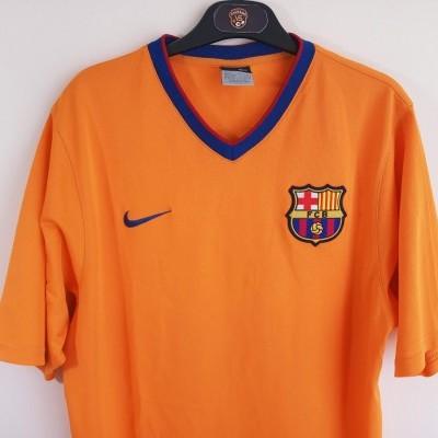 "FC Barcelona Away Shirt 2006-2007 #10 Ronaldinho (L) ""Very Good"""