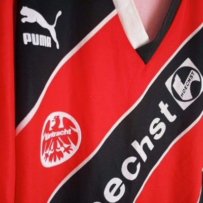 "Eintracht Frankfurt Home Shirt 1988-1989 (S) ""Very Good"""