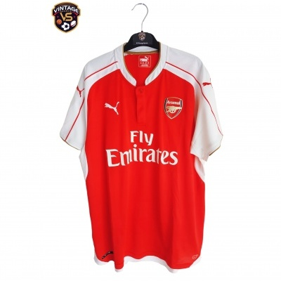 "Arsenal FC Home Shirt 2015-2016 (XL) ""Perfect"""