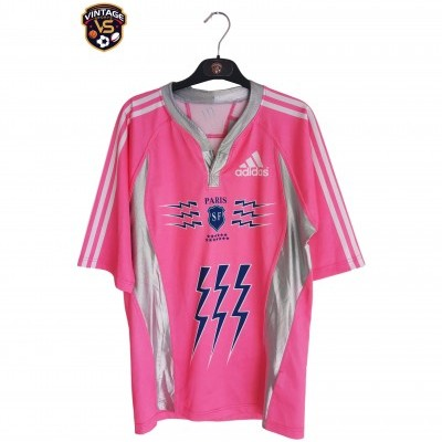 "Stade Français Paris SF Rugby Away Shirt 2007-2008 (M) ""Very Good"""
