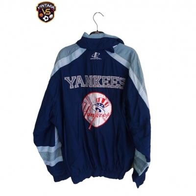 "New York Yankees Baseball Jacket 1990s (L) ""Very Good"""