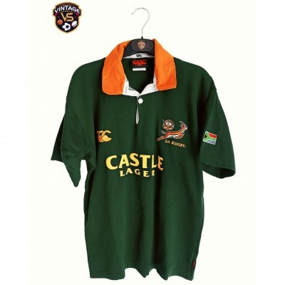 "South Africa Rugby Home Shirt 2004 (S) ""Very Good"""