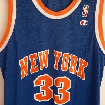 "New York Knicks NBA Jersey #33 Ewing (XL) ""Very Good"""