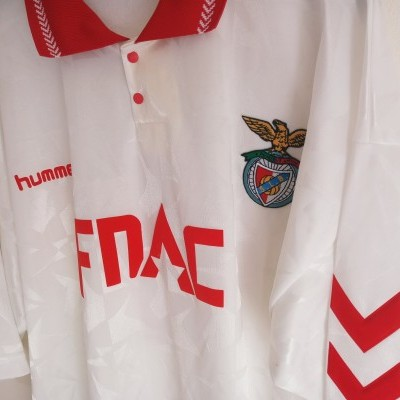 "SL Benfica Away Shirt 1990-1992 #4 (XXL) ""Very Good"""