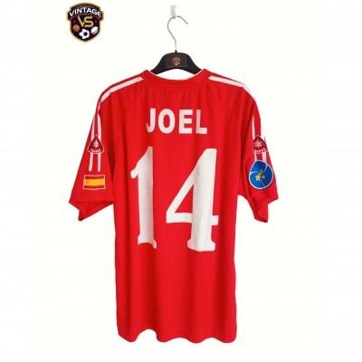 "Matchworn EL Pozo Murcia Futsal Shirt Uefa 2007 #14 Joel Queiroz (L) ""Very Good"""