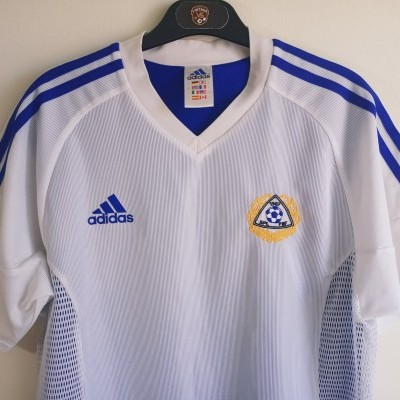 "Issue Finland Home Shirt 2002-2004 #4 Hyypiä (S) ""Good"""